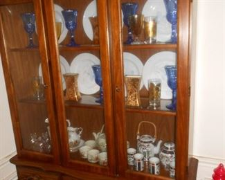another china cabinet.....more dishes....