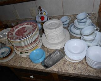 more dishes.....