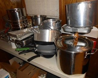 more pots and pans.......
