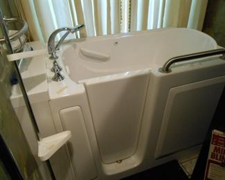 Walk-in Tub, never used.
