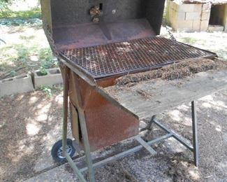 grill....wasp nest not included...
