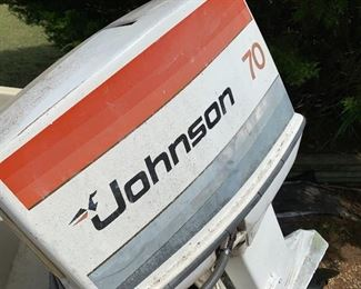 Johnson Seahorse 70 HP