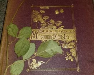 Shakespeare's Midsummer Nights Dream.           (Helena: How can it be said I am alone, When all the world is here to look on me.)  Boston: Roberts Brothers 1870  Welch Bigelow & Company. University Press