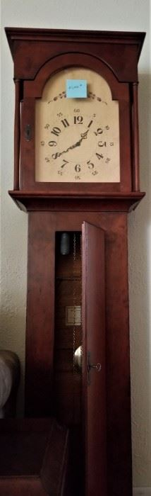 Grandfather clock. Handcrafted by Don Kates, cabinetmaker