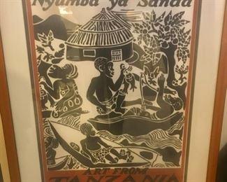 Traditional Tanzanian Art