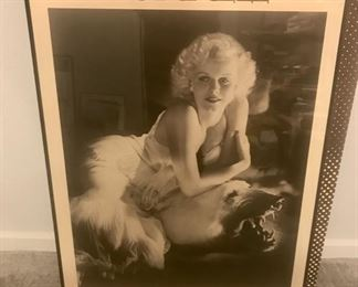 Iconic Jean Harlowe poster