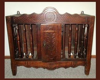 Antique French Panetiere or Bread Safe