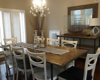 Arhaus table sold - chairs still available