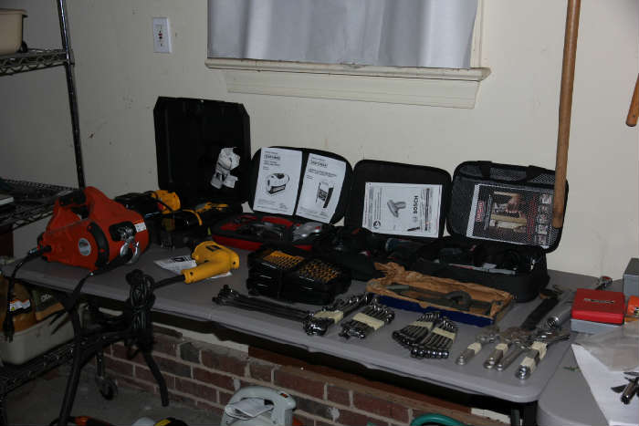 Excellent selection of tools