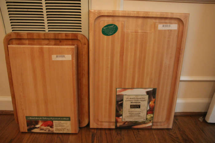 Boos cutting boards, new in package