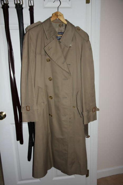 men's Burberrys' overcoat