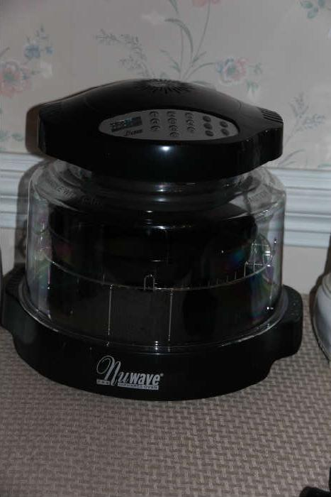 There are two NuWave ovens