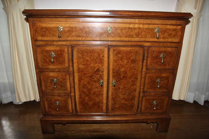White Furniture Company silver storage chest