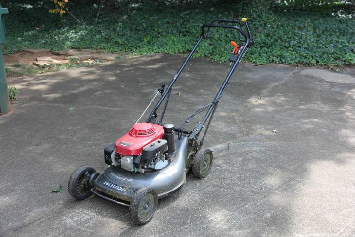 Honda HRC 216 commercial-grade lawn mower.
