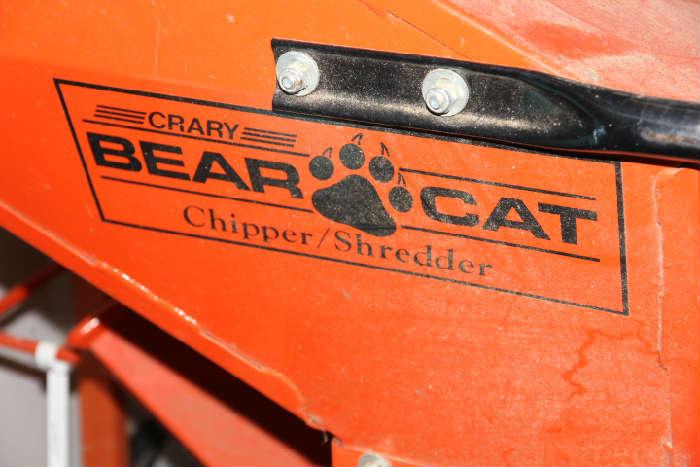 Bear Cat chipper shredder