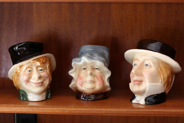 Kingston Pottery Dickens Toby jugs (made in England)