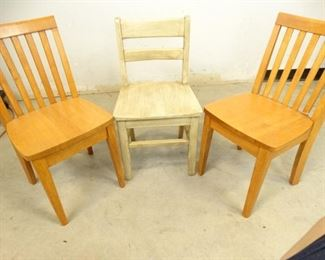 ToddlerChilds Wooden Chairs