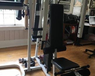 Entire gym $500