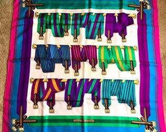 Belts' Hermes Scarf by J. Metz     https://ctbids.com/#!/description/share/178807