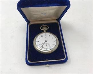 Ingersoll Trenton Pocket Watch         https://ctbids.com/#!/description/share/178875