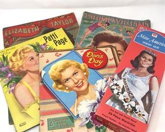Vintage Paper Dolls and Coloring Books      https://ctbids.com/#!/description/share/178889