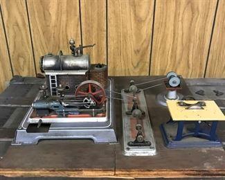 Antique Steam Engine Replica        https://ctbids.com/#!/description/share/178880
