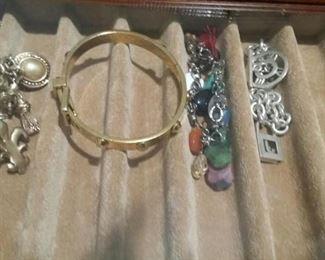 tbs Ralph Lauren charm bracelet