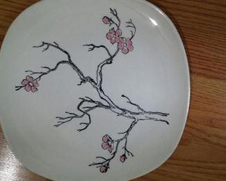 tbs spring blossom platter