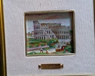 tbs tiny mosaic painting