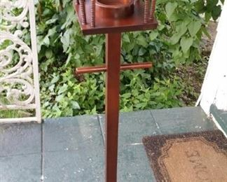 tbs cherry lampost candle holder