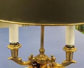 tbs Frederick Cooper brass lamp