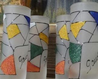 tbs Miro style shot glasses