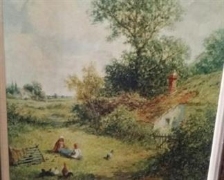 tbs framed pastoral giclee