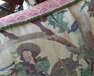 tbs Renaissance tapestry pillows