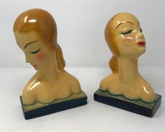 Pair of Deco Busts            https://ctbids.com/#!/description/share/178947