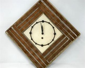 MCM Style German Wall Clock        https://ctbids.com/#!/description/share/178974