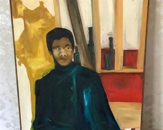 'Billy' Oil Painting      https://ctbids.com/#!/description/share/178990