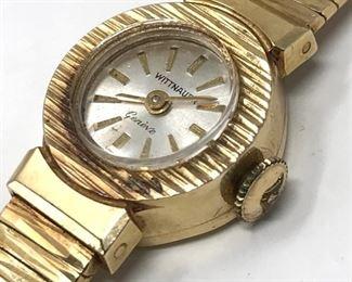 Wittnauer 14K Gold Watch           https://ctbids.com/#!/description/share/178946