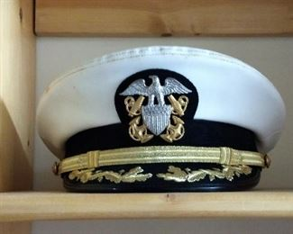 Vintage Naval Officers Hat