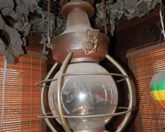 Very unusual vintage lantern