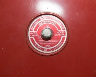 Universal Security Instruments Fire Alarm Bell