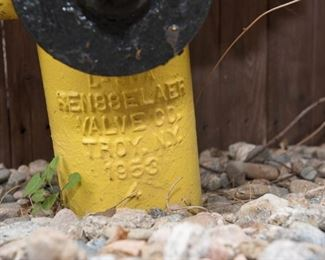 Rensselaer Valve Co. Troy NY 1953 Fire Hydrant
