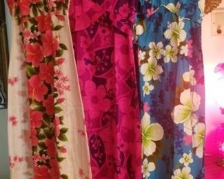 Some cool Hawaiian dresses..vintage