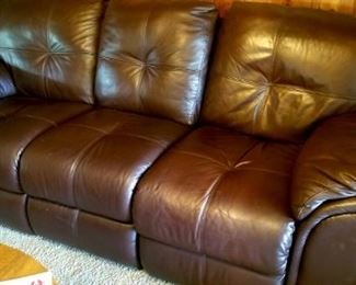 Nice leather sofa