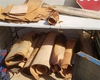 Huge selection of leather...used for all types of tooled leather work!