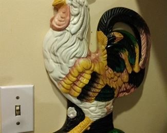 GREAT SELECTION OF COUNTRY ROOSTER DECOR