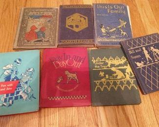VINTAGE 20-50S CHILDRENS BOOKS
