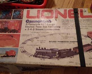 LIONEL BOX...CANNONBALL