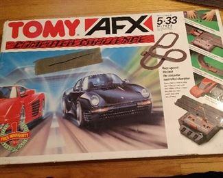 TOMY AFX / AURORA  RACE SET W/ BOX