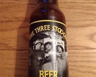 THE THREE STOOGES BEER